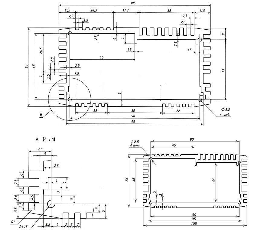 Корпус для компьютера своими руками чертежи 86